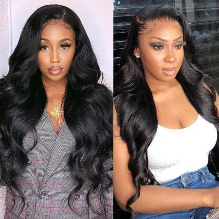 Pre Plucked Lace Front Wig Body Wave Hair Wig